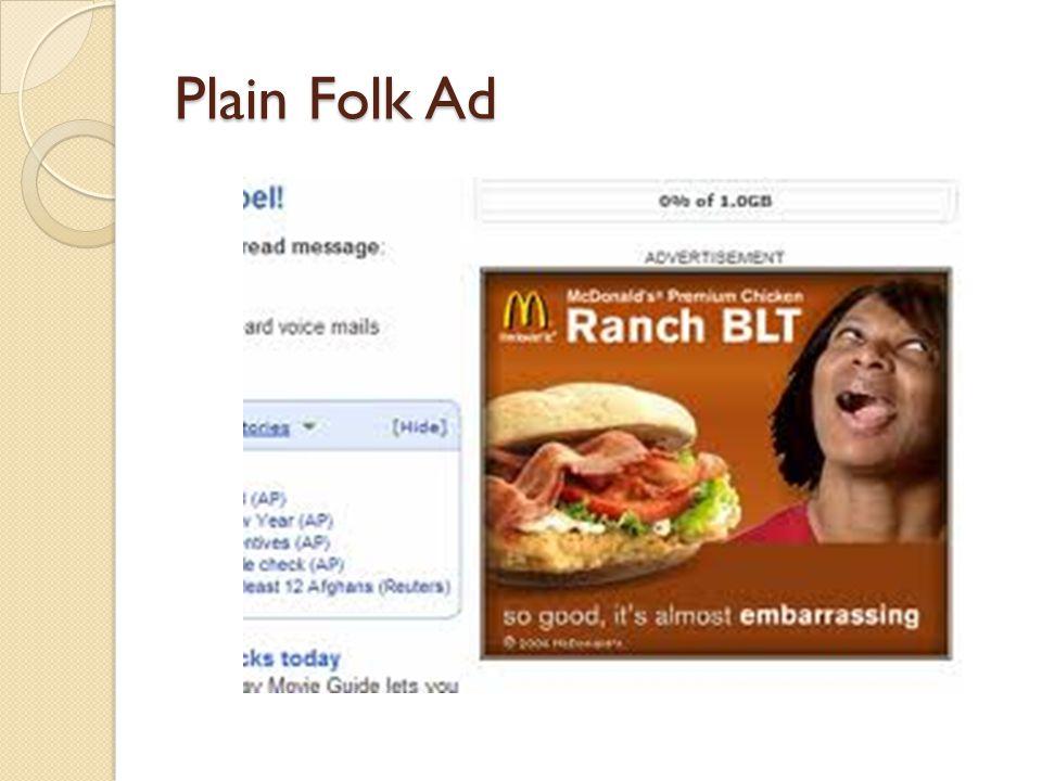Plain Folk Political Ad…