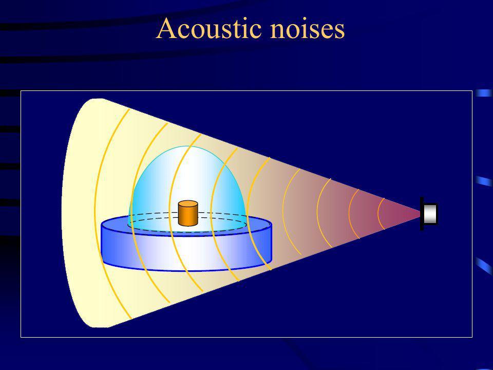 Acoustic noises
