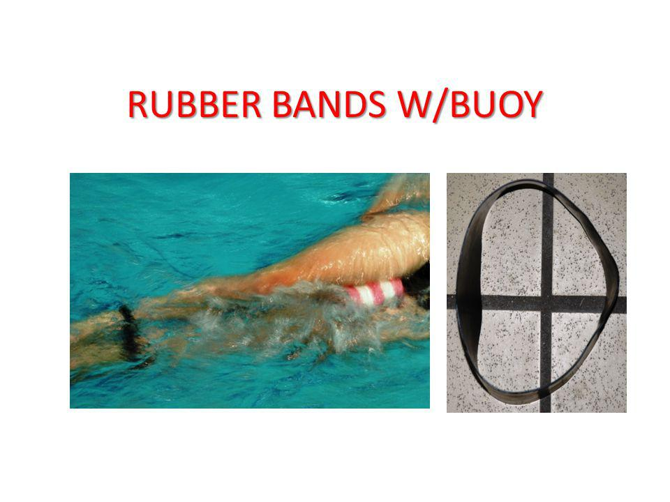 RUBBER BANDS W/BUOY