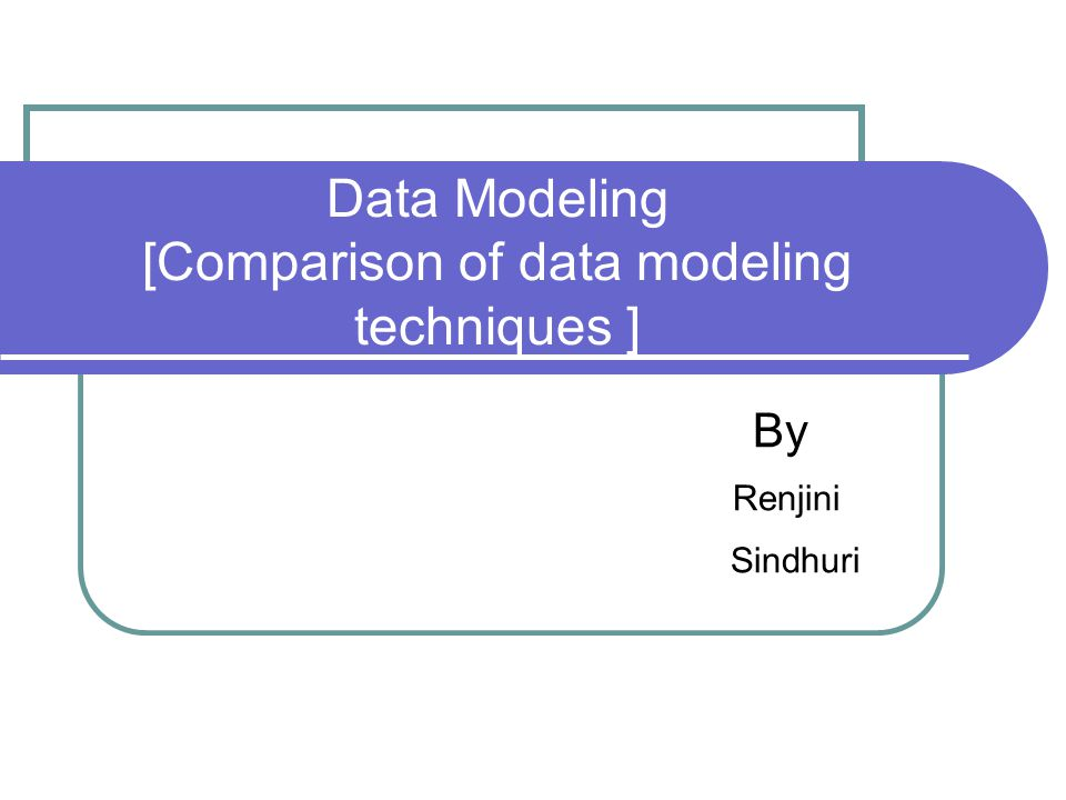 Contents Introduction E-R modeling Peter Chen Information Engineering Barkers Notation IDEFIX UML modeling XML modeling X- Entity modeling XUML Conclusion