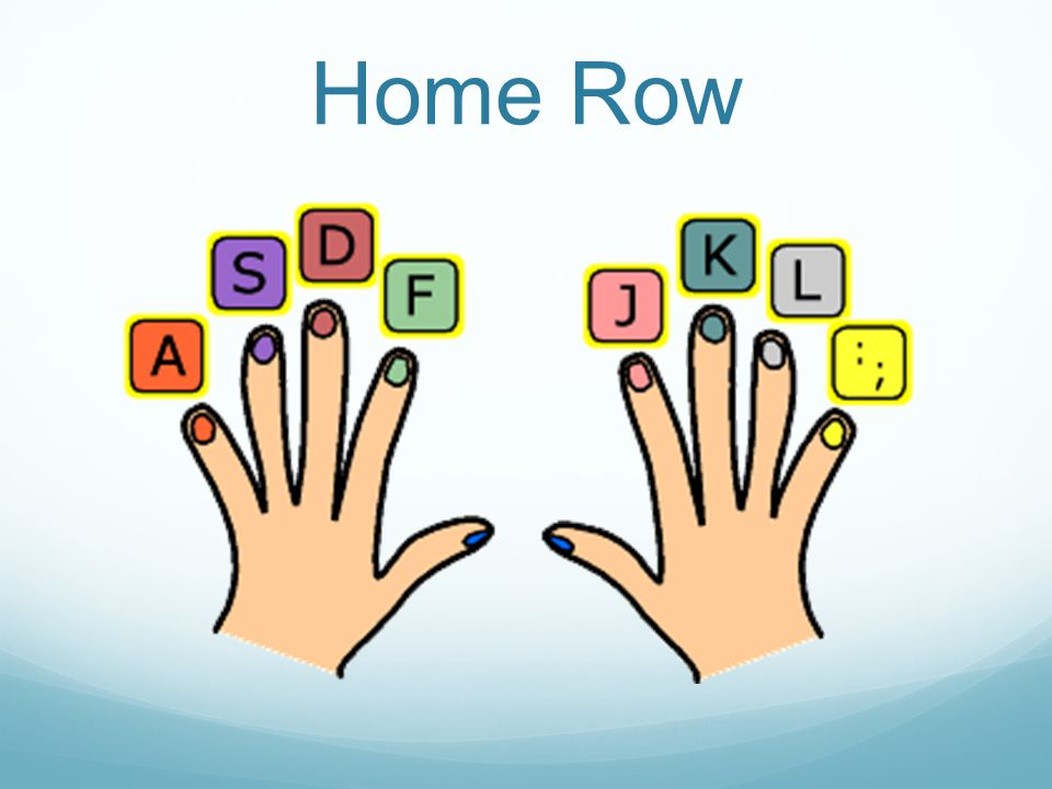 HOME ROW KEYS Why.