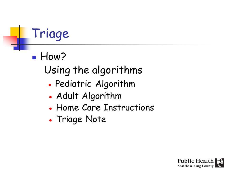 Triage How.