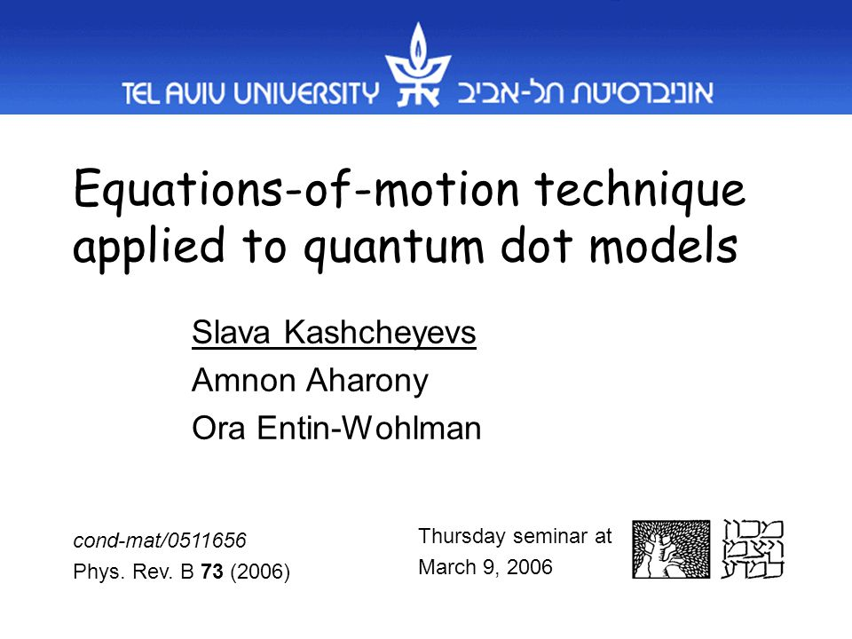 Paradigm: the Anderson model Anderson (1961) – dilute magnetic alloys Glazman&Raikh, Ng&Lee (1988) – quantum dots Generalizations –Structured leads (mesoscopic network) –Multilevel dots / multiple dots with capacitative / tunneling interactions –Spin-orbit interactions Essential: many-body interactions restricted to the dot