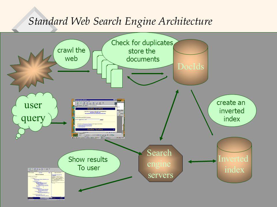 Database Management Systems, R. Ramakrishnan19 Web Crawling