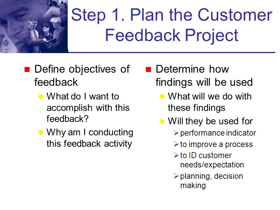 Customer Feedback Framework Plan Construct Conduct Analyze Act