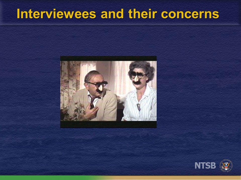 Some factors that influence responses Context of the interview Structure of the questions Interviewee concerns