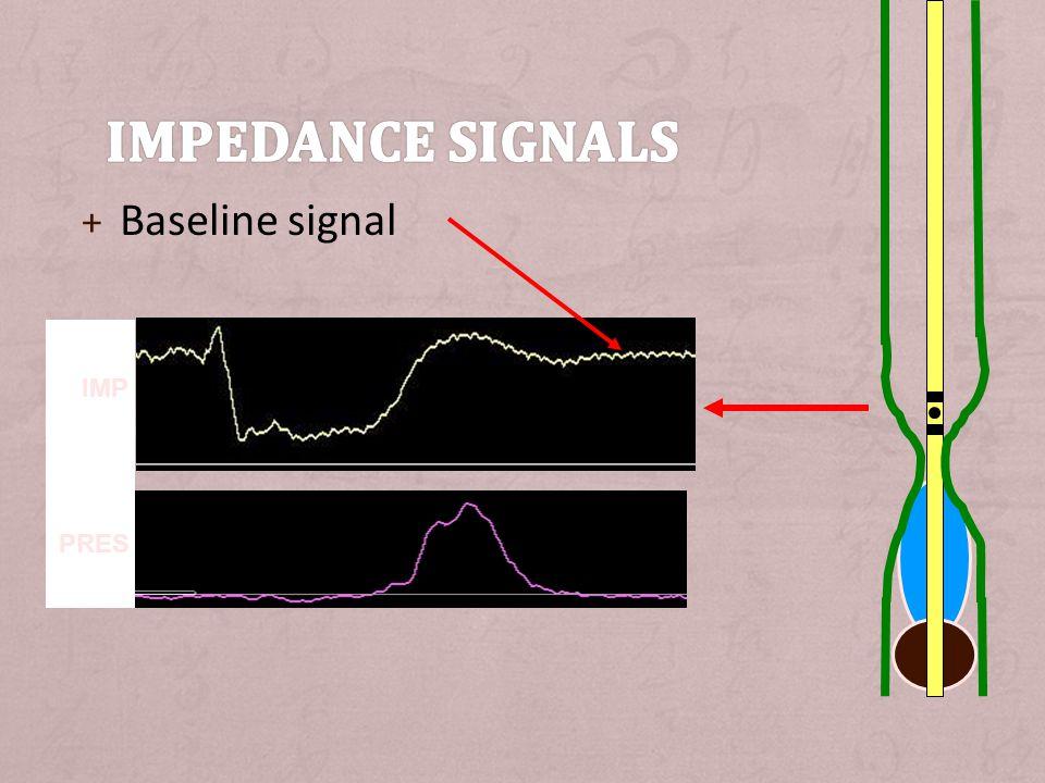 + Baseline signal IMP PRES