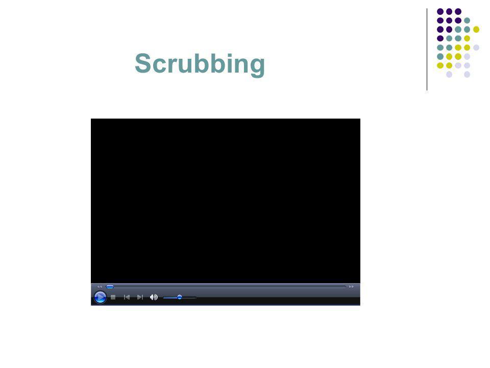 Pre scrubbing