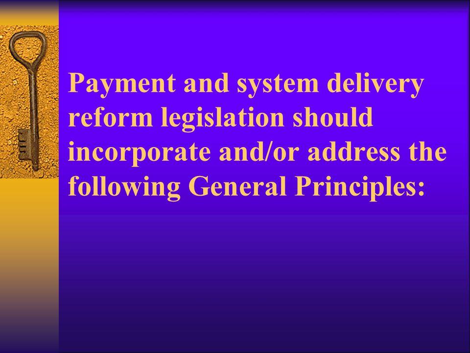 General Principles: 1.