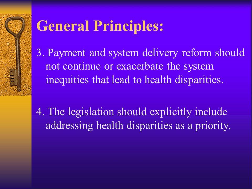 General Principles: 5.