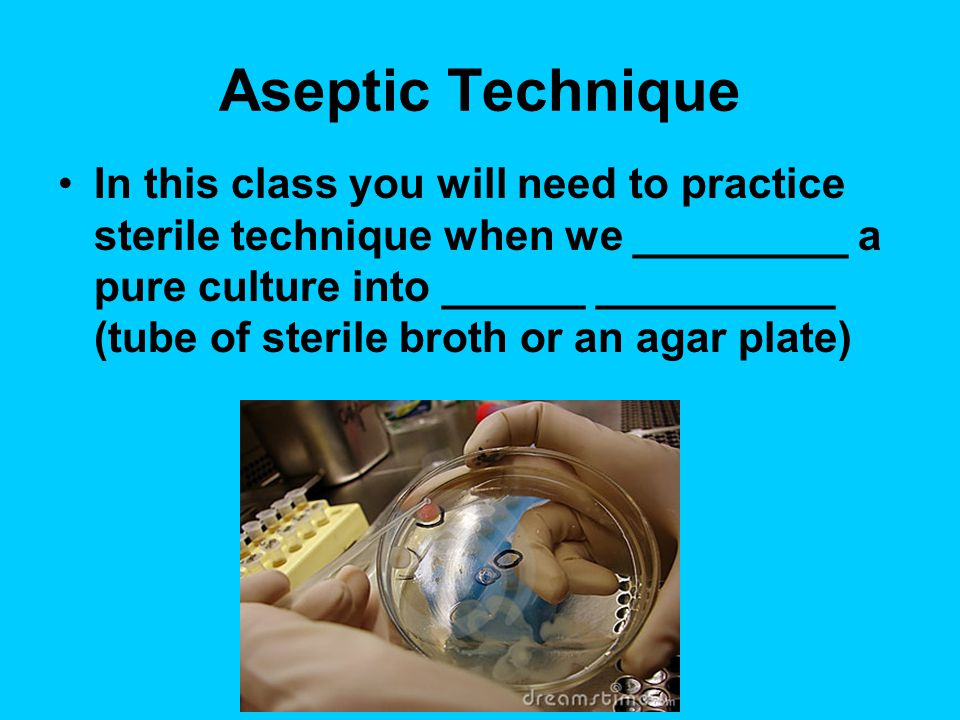 Aseptic Technique A = Negative prefix Septic = Infection All techniques and procedures which __________ _______________