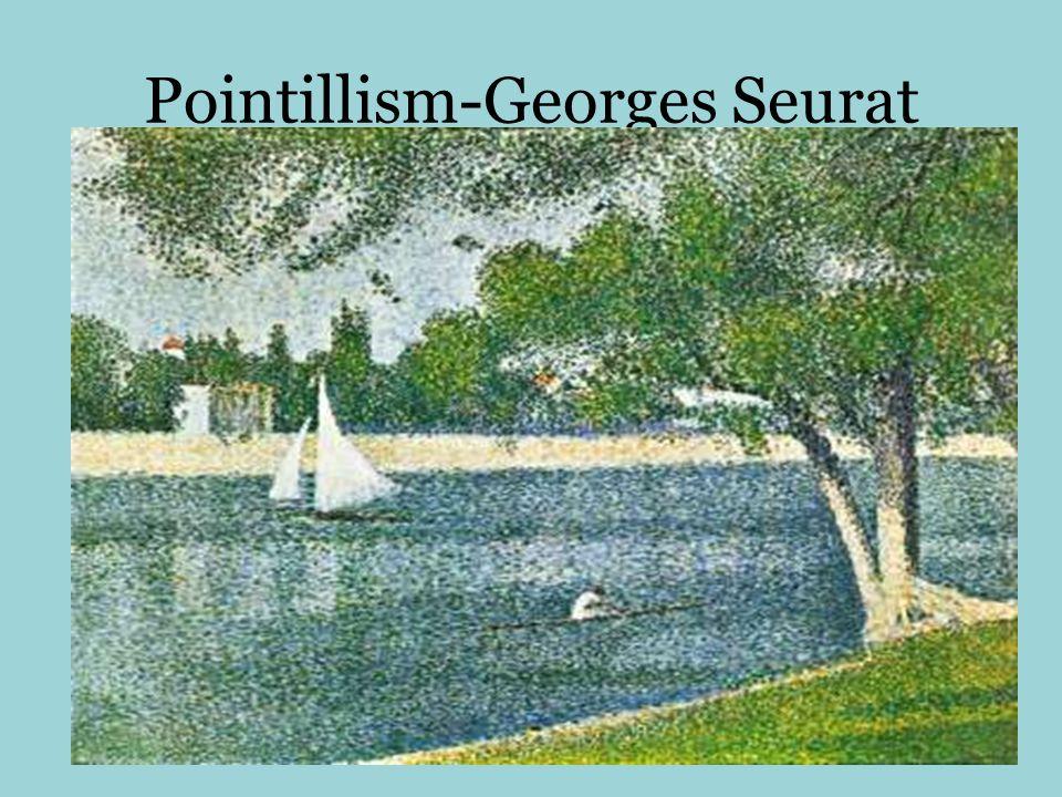 Pointillism-Georges Seurat