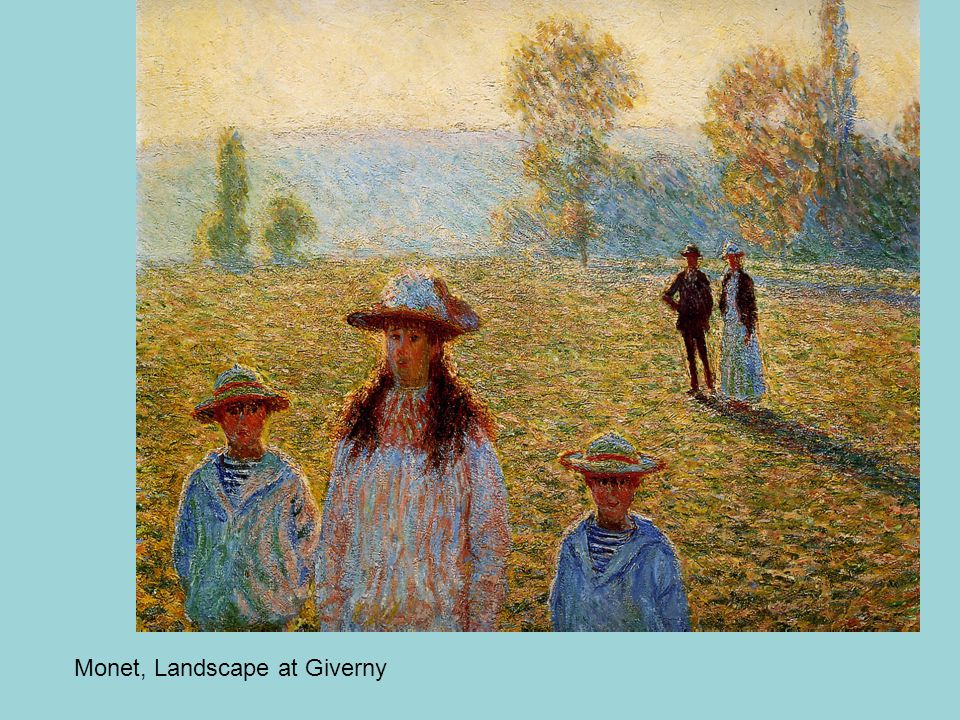 Monet, Landscape at Giverny