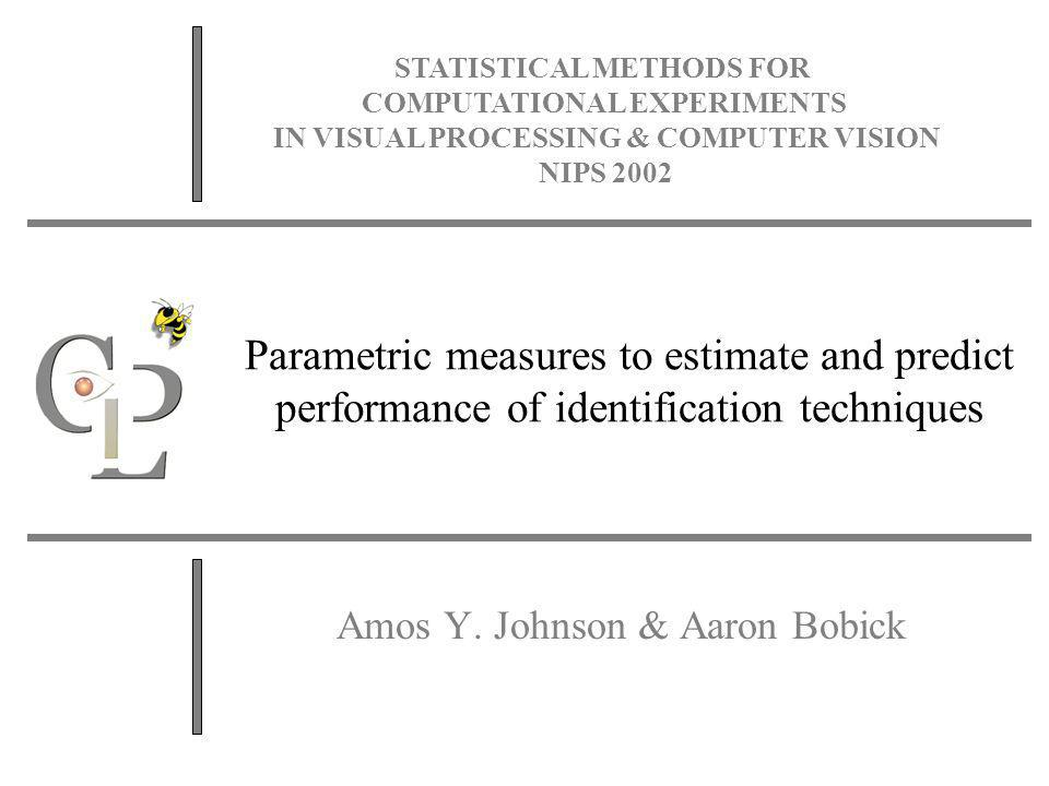 x Transformed Expected-Confusion Therefore: The expected value of this probability over all targets templates is