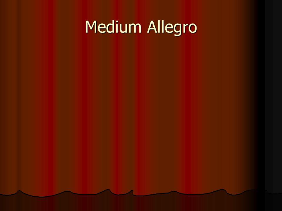 Medium Allegro