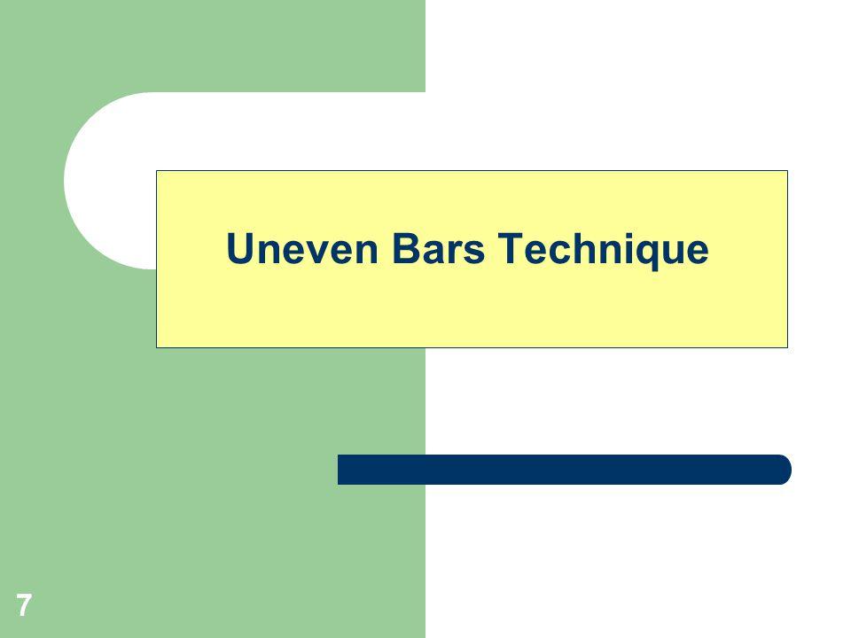 7 Uneven Bars Technique