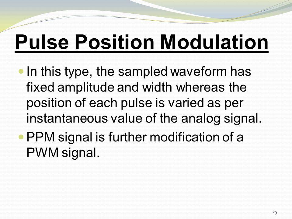 24 Pulse Width Modulation 24