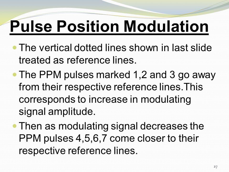 26 Pulse Position Modulation 26