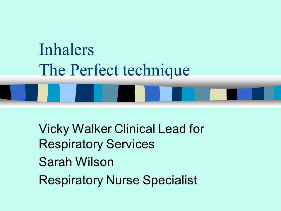 DVD & Inhaler demonstration