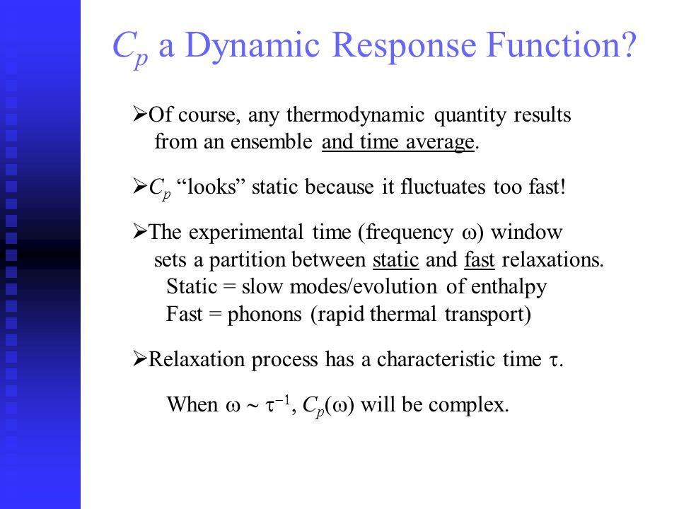 C p a Dynamic Response Function.