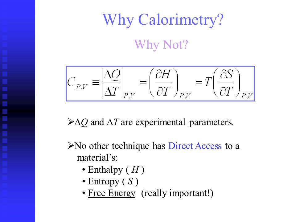 Application: Calorimetric Spectroscopy