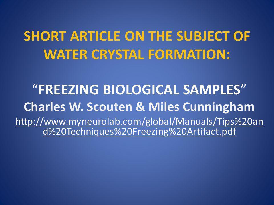METHODS OF TISSUE FREEZING 1.Fresh tissue freezing – Tissue is in OCT and flash frozen fresh.