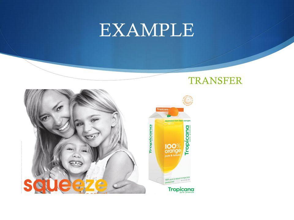 EXAMPLE TRANSFER