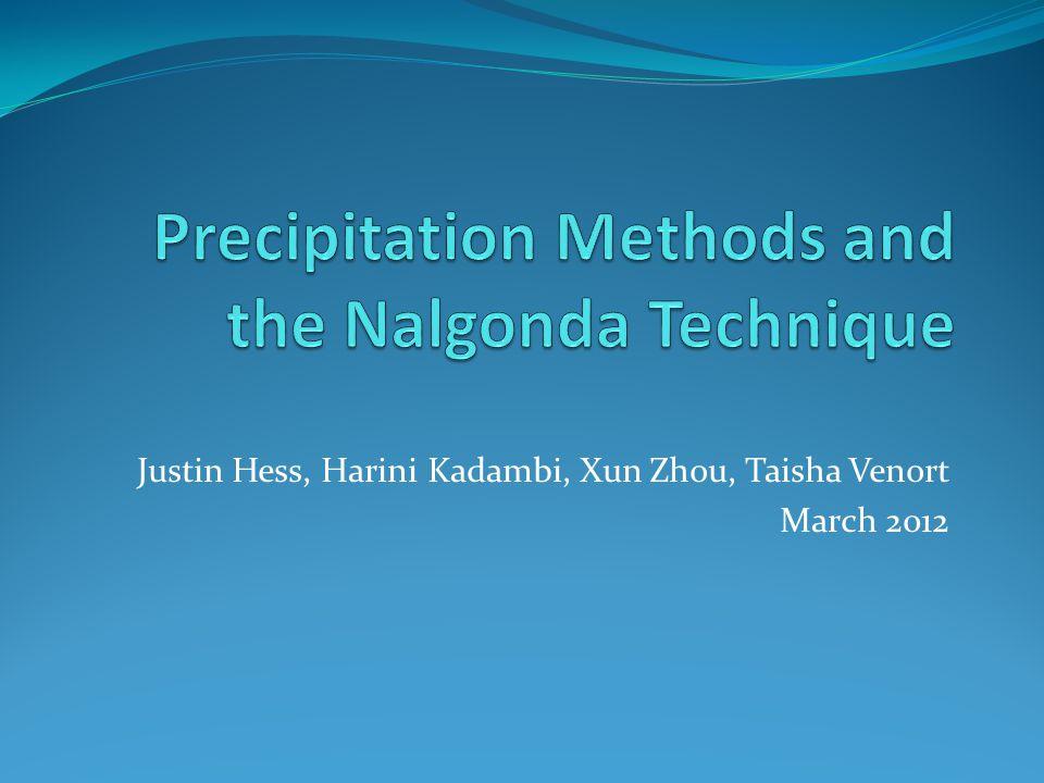 Justin Hess, Harini Kadambi, Xun Zhou, Taisha Venort March 2012