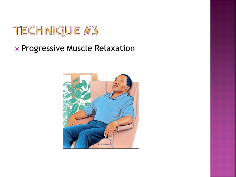 Progressive Muscle Relaxation