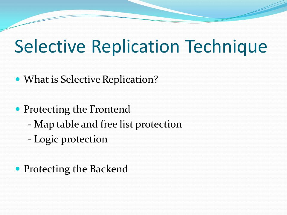 Selective Replication Technique Instruction Vs Vulnerability [minAVF + (maxAVF minAVF)/25× (i 1), minAVF + (maxAVF minAVF)/25× i] Implementing the Vulnerability Threshold