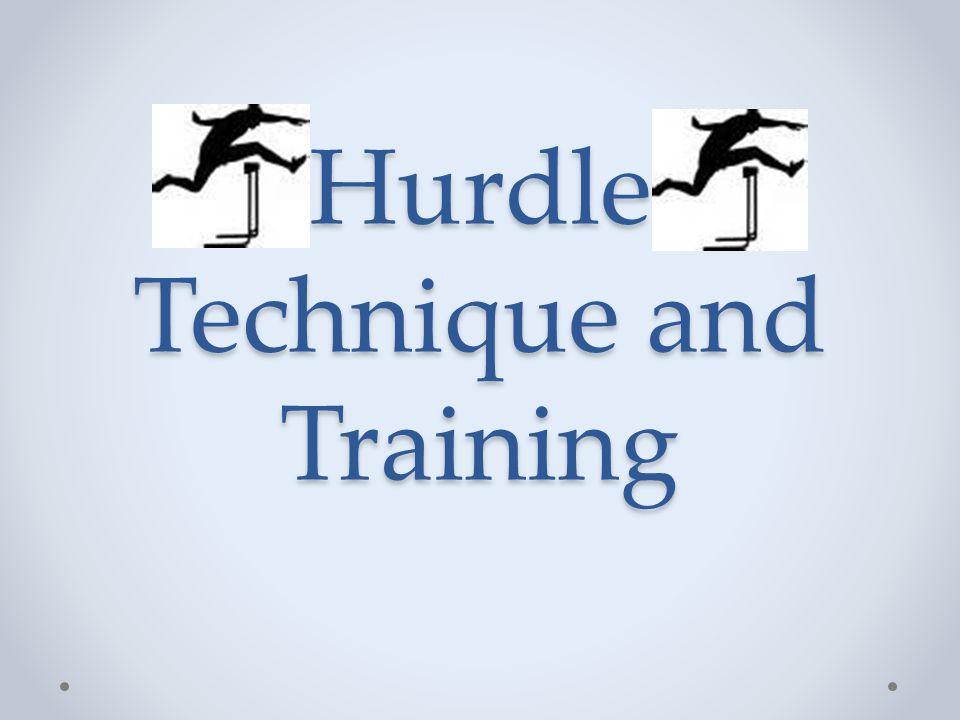 Hurdle Technique and Training