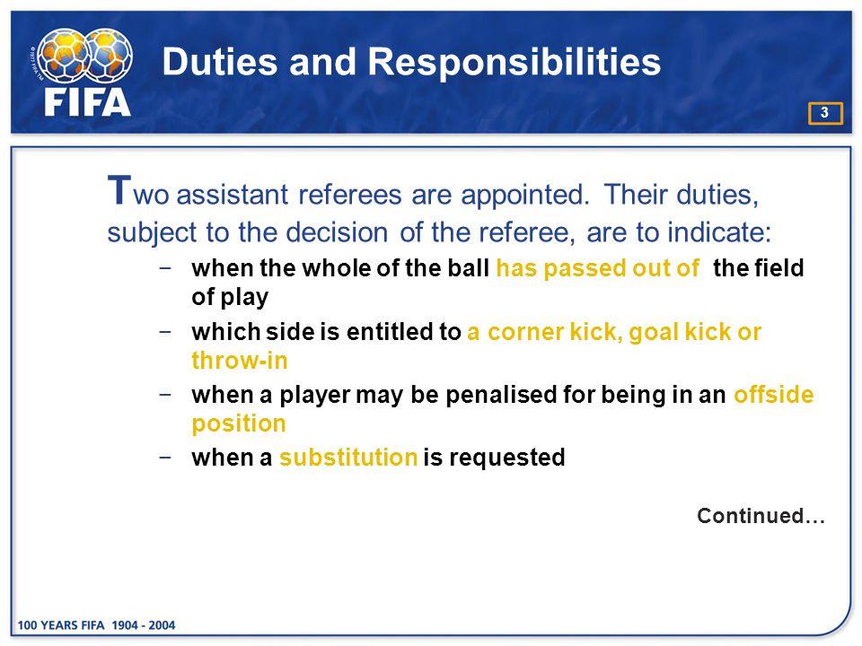 14 Positioning 5. Penalty kick