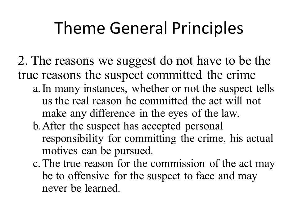 Theme General Principles 2.