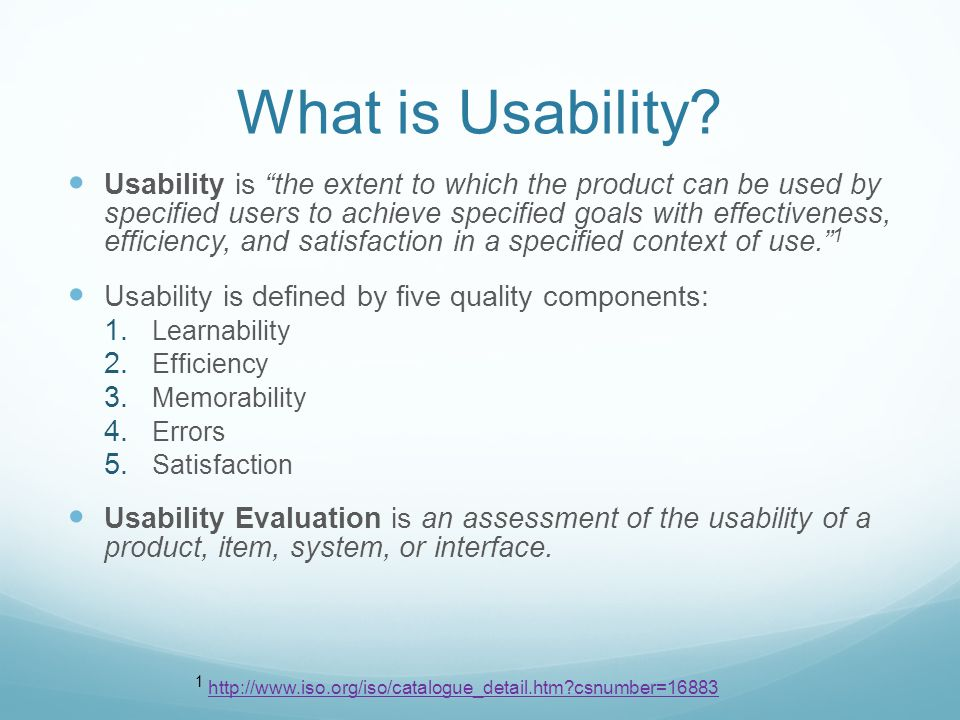 Why Usability Testing is Important You are not your user You know too much about your product and can t assess it with fresh eyes There is nothing as illuminating as watching a user struggle through your interface