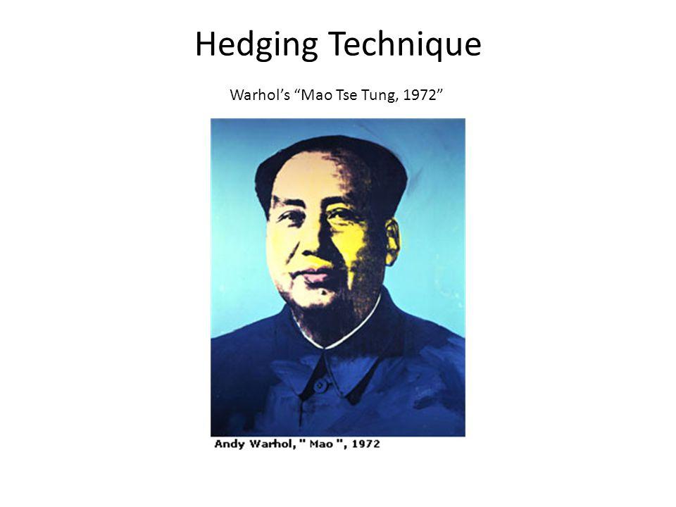 Hedging Technique Warhols Mao Tse Tung, 1972