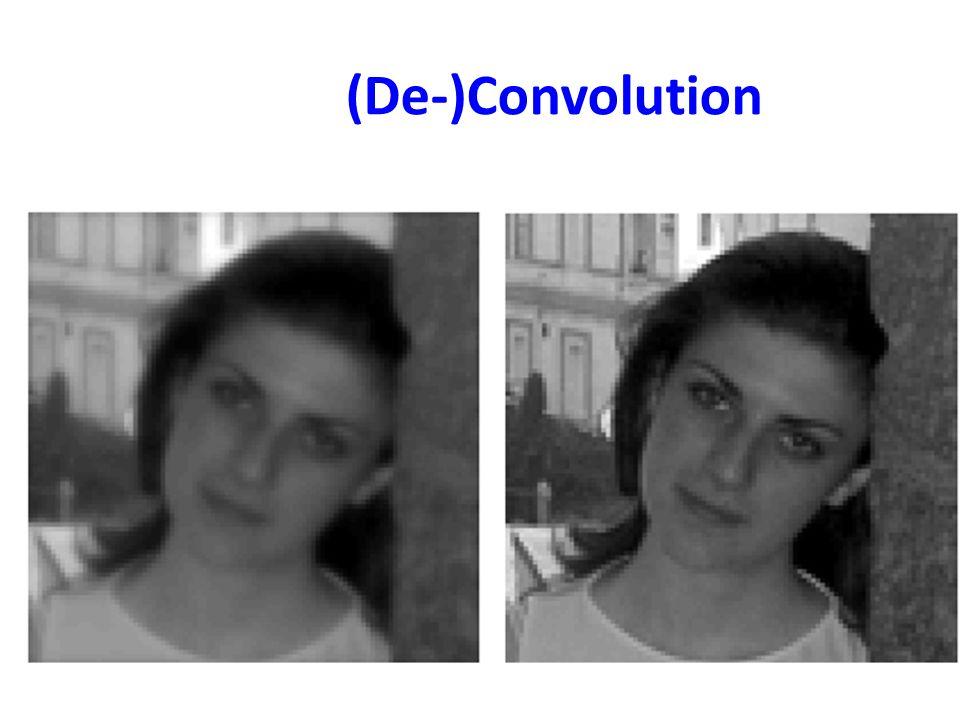 (De-)Convolution