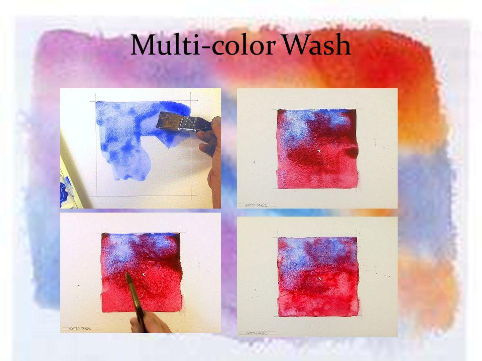 Multi-color Wash