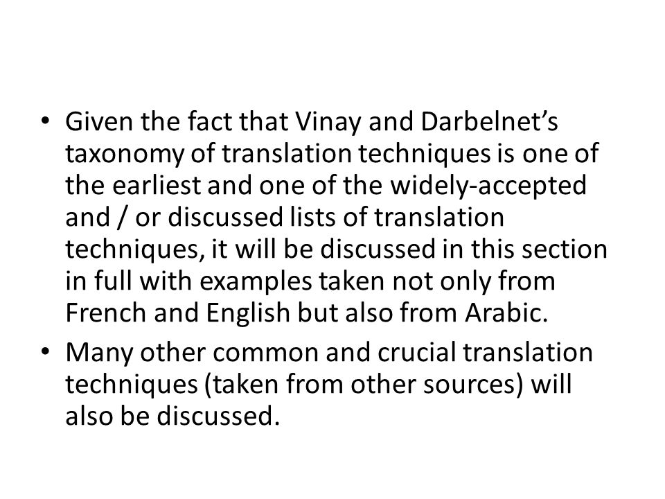 Omission means neglecting a word or words from the SLT in the course of translation.
