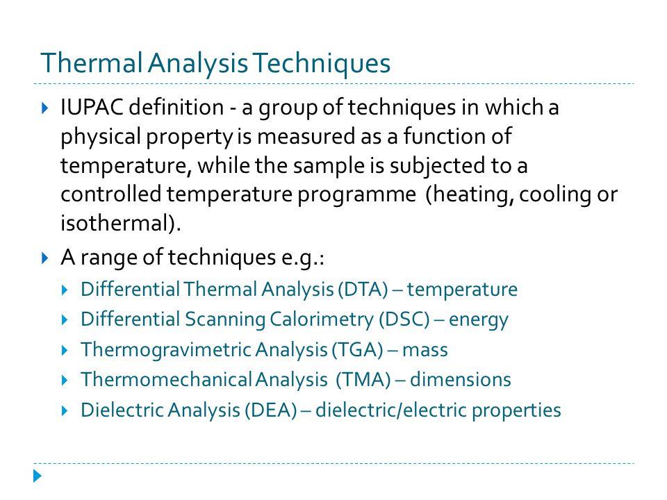Compatibility Studies Source: Schmitt E et al. Thermochim Acta 2001, 380, 175 – 183