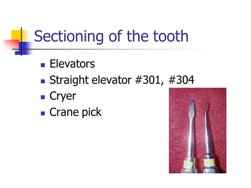 Elevators Straight elevator #301, #304 Cryer Crane pick