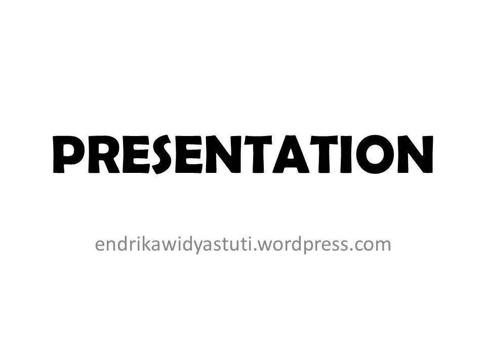 PRESENTATION Presentation after mid test 3-4 group each meeting Class Q : 10 group(4-3-3) Class R : 9 group (3-3-3) Time for presentation: 10 minutes (max 10 slides) Time for discussion: 10 minutes