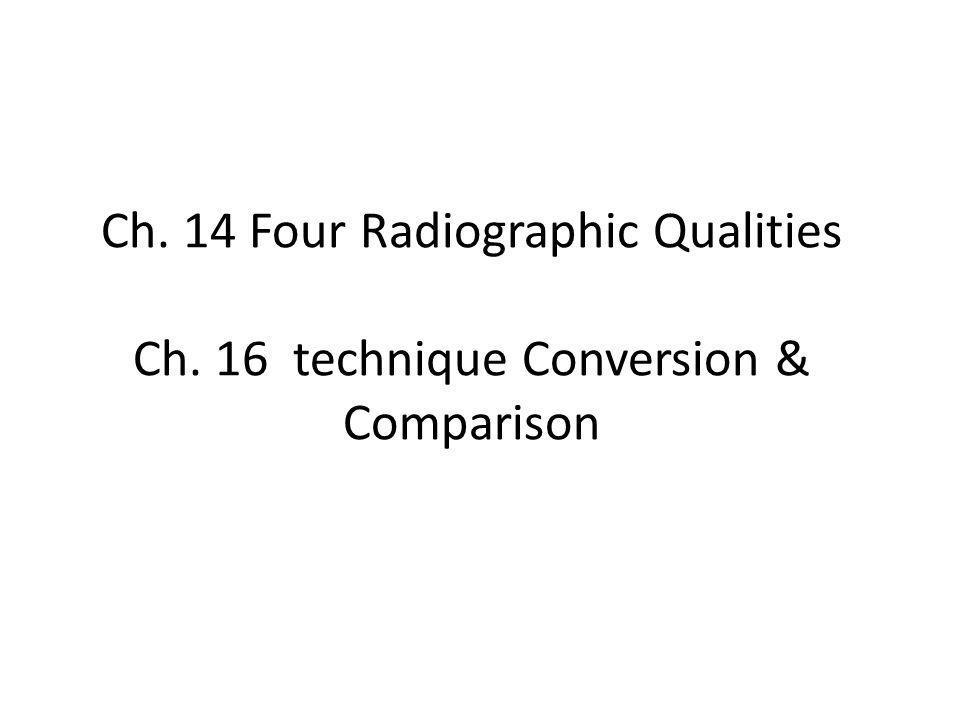 Ch. 15 Exposure compensation