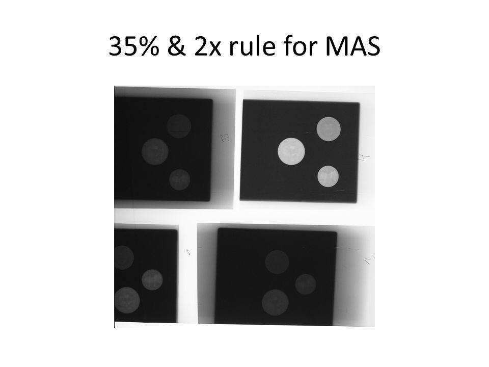 Double MAS