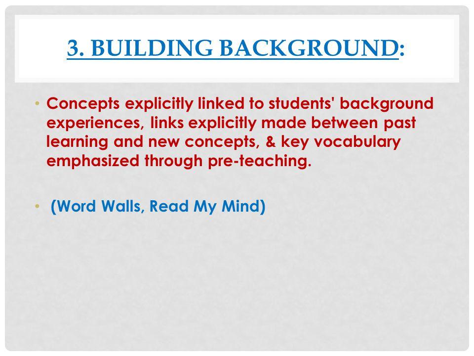 READ MY MIND HTTP://WWW.HOMEDALESCHOOLS.ORG/TEACHER_RESOURCES/SIOP HTTP://WWW.HOMEDALESCHOOLS.ORG/TEACHER_RESOURCES/SIOP Have the students number their paper 1 – 5.