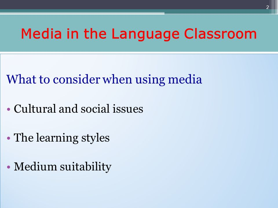 Using Video in the ESL Classroom Benefits of using videos Provide authentic listening and viewing experiences Add visual dimension to aural work Give prominence to paralinguistic features Engage the learners Inspire teachers creativity Strengthen teachers self-confidence Benefits of using videos Provide authentic listening and viewing experiences Add visual dimension to aural work Give prominence to paralinguistic features Engage the learners Inspire teachers creativity Strengthen teachers self-confidence 3