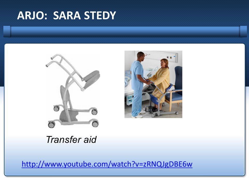 ARJO: SARA STEDY Transfer aid