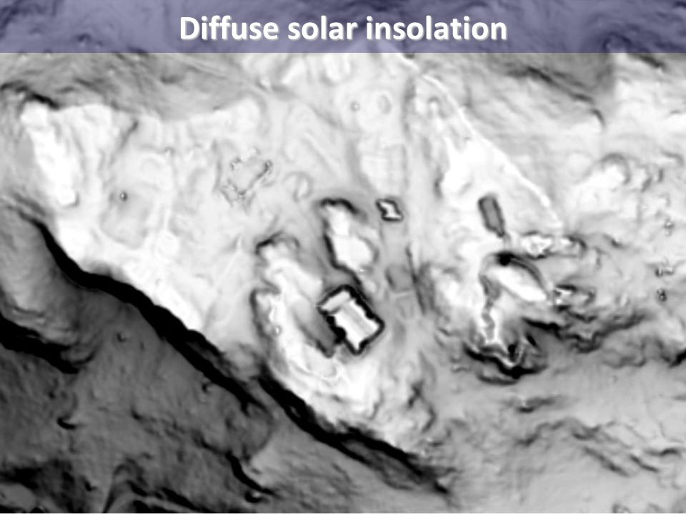 Diffuse solar insolation