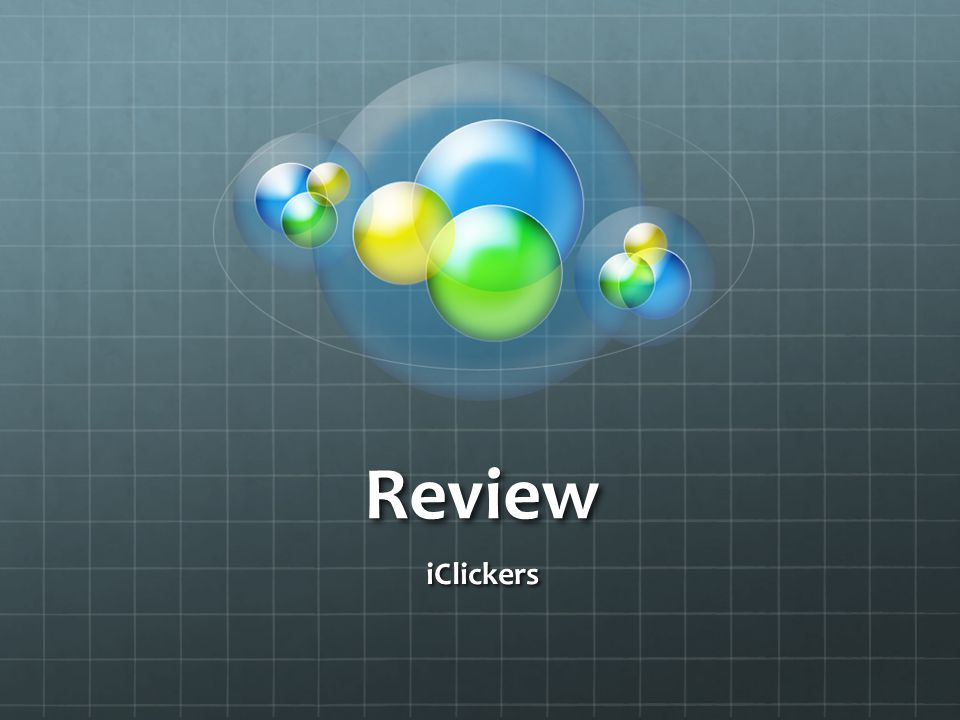 Review iClickers