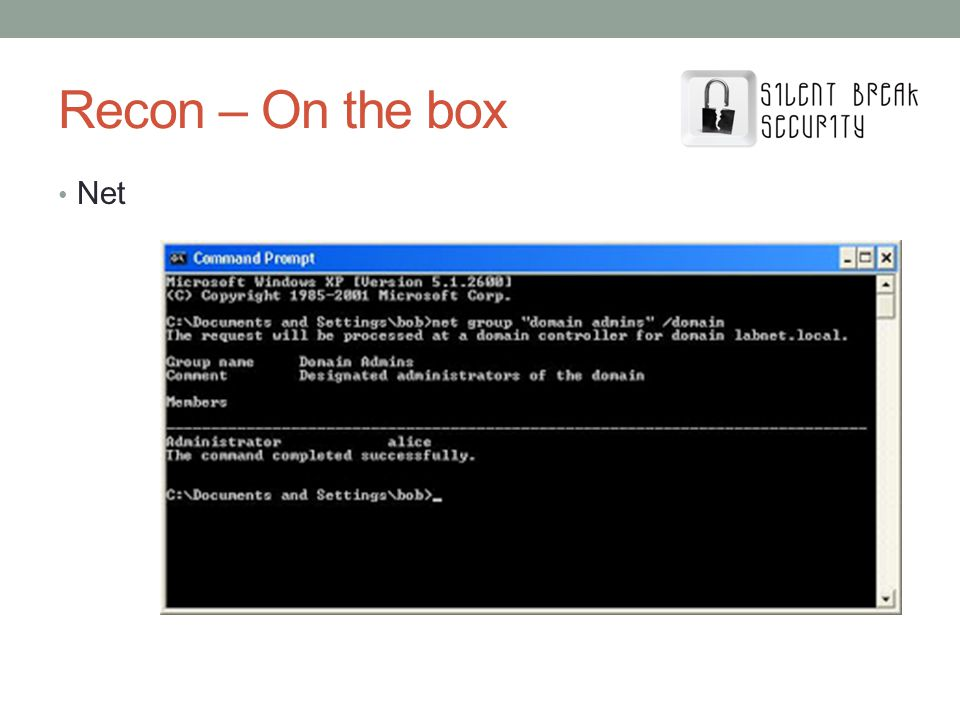 Recon – On the box Net