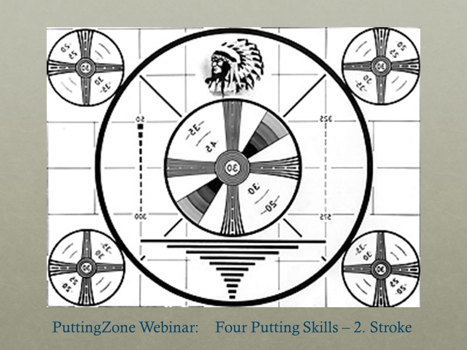 PuttingZone Webinar: Four Putting Skills – 2. Stroke